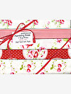 Rambling Rose WHITE Half Yard Gift Pack by Tanya Whelan
