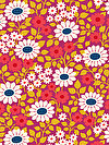 hello LOVE PWHB078-VIOLE Fabric by Heather Bailey