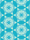 hello LOVE PWHB082-BLUEX Fabric by Heather Bailey