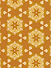 hello LOVE PWHB082-GOLDX Fabric by Heather Bailey