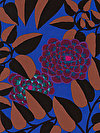 Kaffe Fassett PWGP151-ROYAL Fabric