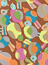 Brandon Mably PWBM063-BROWN Fabric