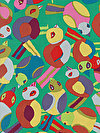 Brandon Mably PWBM063-GREEN Fabric