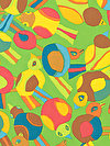 Brandon Mably PWBM063-LIMEX Fabric
