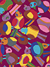 Brandon Mably PWBM063-PURPL Fabric