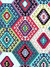 Tribal PWSL046-AMAZO Fabric by Snow Leopard Designs