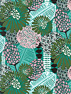 Posy PWAR001-JULEP Fabric by Amy Reber