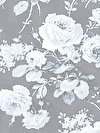 Shades of Rose PWTW136-GRAYX Fabric by Tanya Whelan