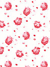 Shades of Rose PWTW140-REDXX Fabric by Tanya Whelan