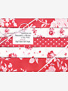 Shades of Rose RED Half Yard Gift Pack by Tanya Whelan