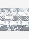 Shades of Rose GRAY Half Yard Gift Pack by Tanya Whelan
