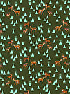 Holiday Homies PWTP106-PINEF Fabric by Tula Pink