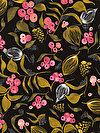 Floral Waterfall PWSN002-BRIGH Fabric by Shannon Newlin