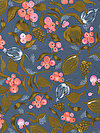 Floral Waterfall PWSN002-SOFTX Fabric by Shannon Newlin