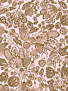 Floral Waterfall PWSN003-PINKX Fabric by Shannon Newlin