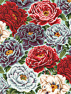 English Garden PWSL053-HARVE Fabric by Snow Leopard Designs