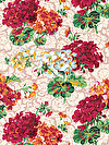 English Garden PWSL055-SPRIN Fabric by Snow Leopard Designs