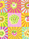 Kaffe Fassett PWGP162-YELLO Fabric