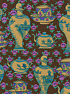 Kaffe Fassett PWGP165-BROWN Fabric