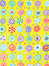 Kaffe Fassett PWGP166-YELLO Fabric