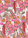 Piecemeal PWTG189-PINKX Fabric by Tina Givens