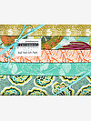 Piecemeal AQUA Half Yard Gift Pack by Tina Givens