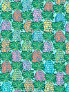 Judith's Fancy PWJP137-TEALX Fabric by Jennifer Paganelli