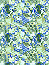 Roaring Twenties PWSL064-CRYST Fabric by Snow Leopard Designs