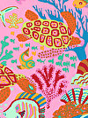 Brandon Mably PWBM064-PINKX Fabric