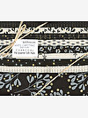 White Christmas CHARCOAL Fat Quarter Gift Pack by Zen Chic
