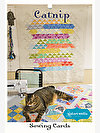 Catnip Lap Quilt Sewing Card by Valori Wells Designs