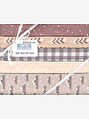 Arctic NATURAL Half Yard Gift Pack by Elizabeth Hartman