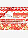 Farmhouse II TOMATO Fat Quarter Gift Pack by Fig Tree Quilts