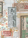 Eclectic Elements PWTH091-MULTI Fabric by Tim Holtz