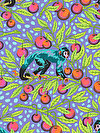 Monkey Wrench PWTP134-DRAGON FRUIT Fabric by Tula Pink