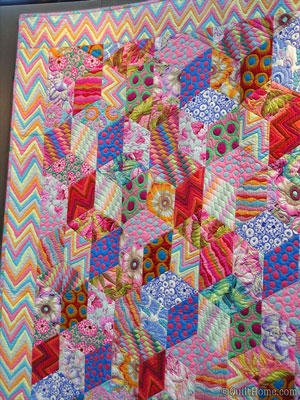 Kaffe Collective Quilt at Quilt Market