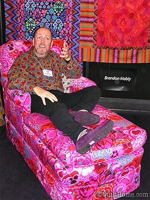 Brandon Mably in the Chaise Lounge