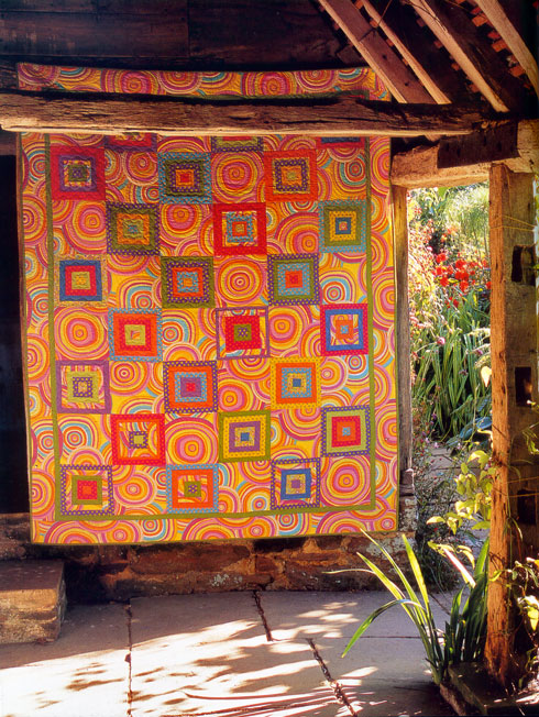 from Kaffe Fassett's Country Garden Quilts