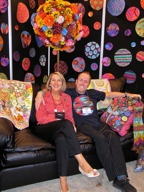 Brandon Mably at Fall QuiltMarket 2008