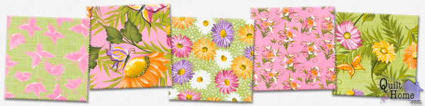 Enable images to see Daisies — Green/Pink Palette by Donna Dewberry