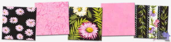 Enable images to see Daisies — Pink/Black Palette by Donna Dewberry