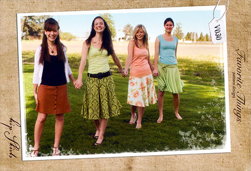 Hip Skirts pattern by Favorite Things