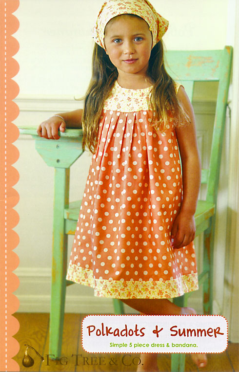 Polkadots & Summer pattern by Joanna Figueroa of Fig Tree & Co.