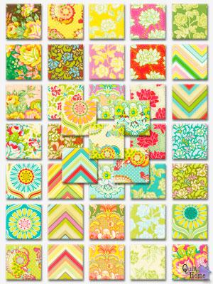 QuiltHome.com's Pop Garden™ Designer Sampler™