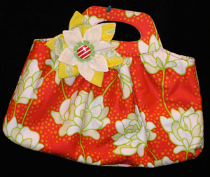 Quilt Market purse by Heather Bailey