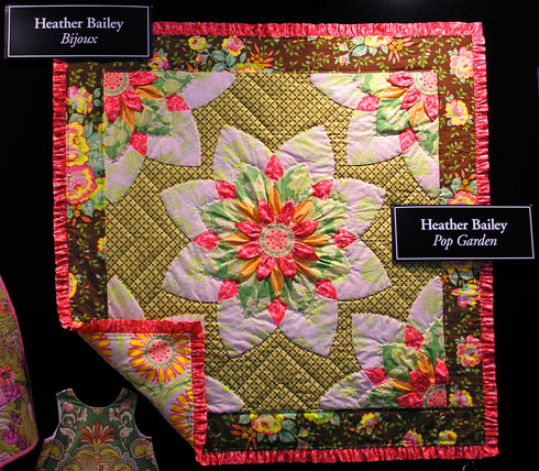 Enable Images to see a Quilt Market quilt by Heather Bailey