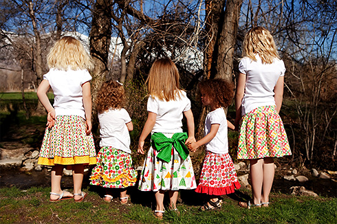 Addie Jo Skirts by Izzy & Ivy Designs