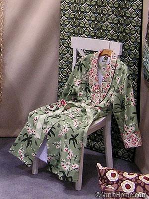 Robe by Lila Tueller featuring Joel Dewberry Ginseng Jasmine Palette