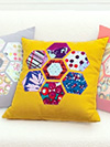 Honeycomb Pillow Kit in Saffron by Jay McCarroll