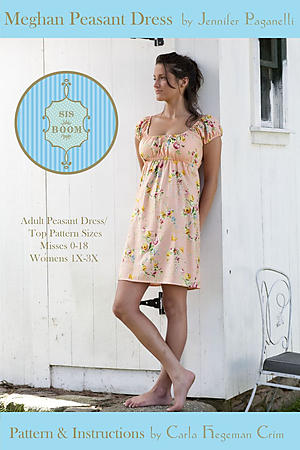 Meghan Peasant Dress by Jennifer Paganelli & Carla Hegeman Crim
